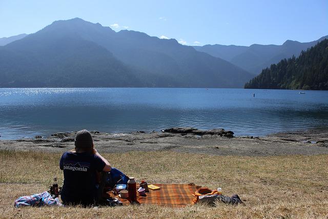 picnic at lake crescent amanda fisher