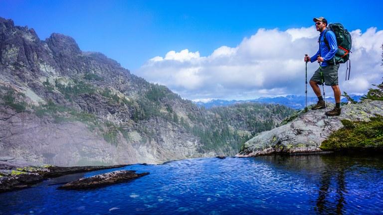 Chikamin Lake by Drew Larrigan