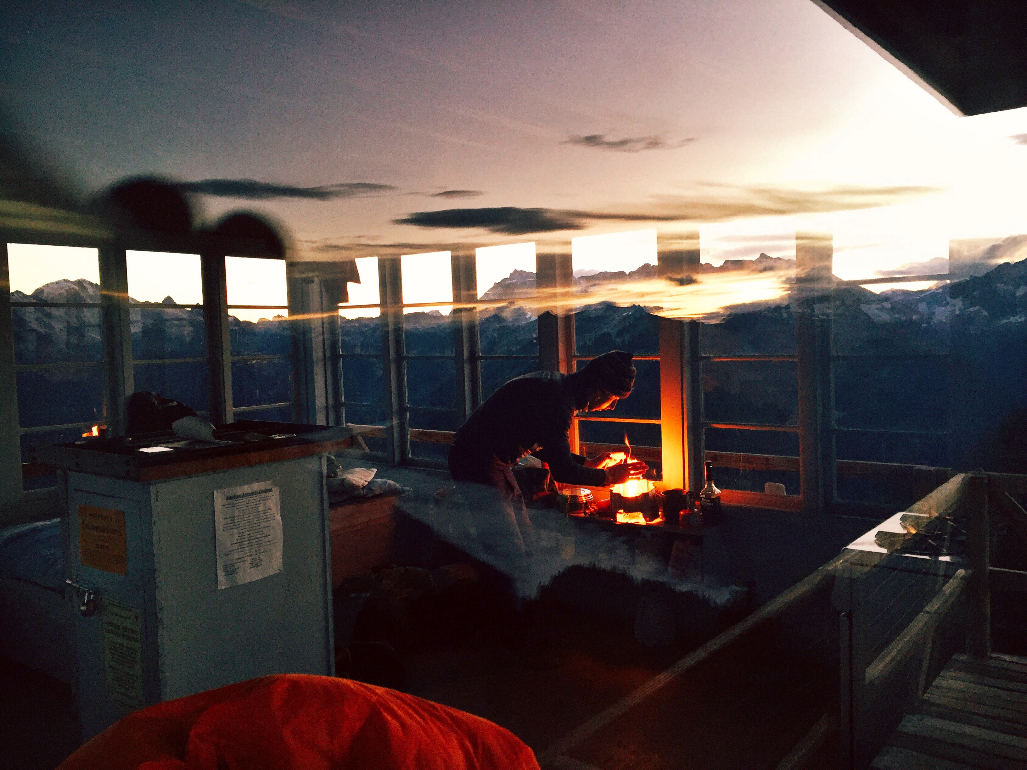 Sunrise at Lookout Mountain Lookout by Gabby Kapa