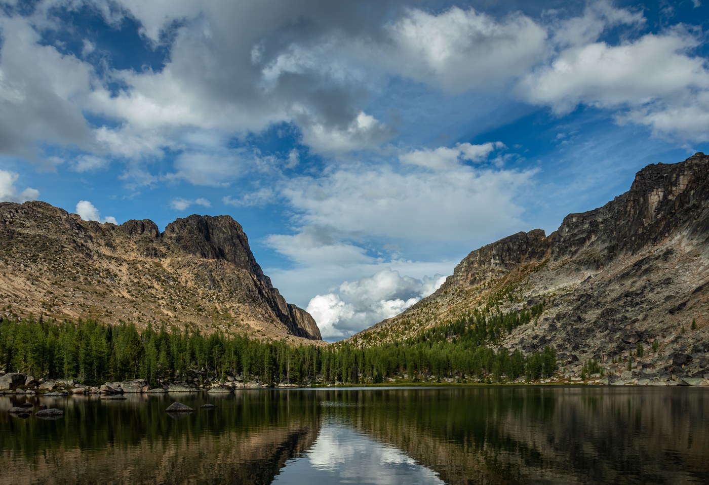 Cathedral Pass Loop