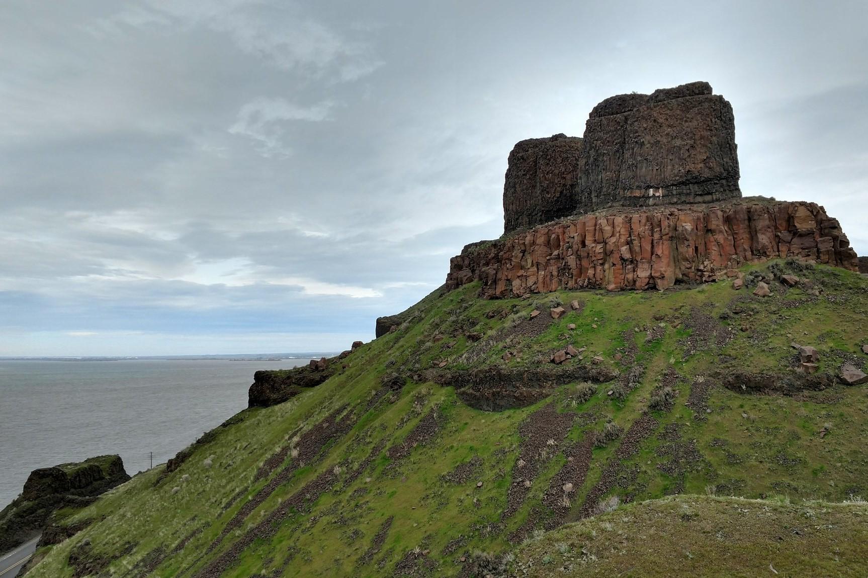 Twin Sisters Rock. Photo by Leann L.jpeg
