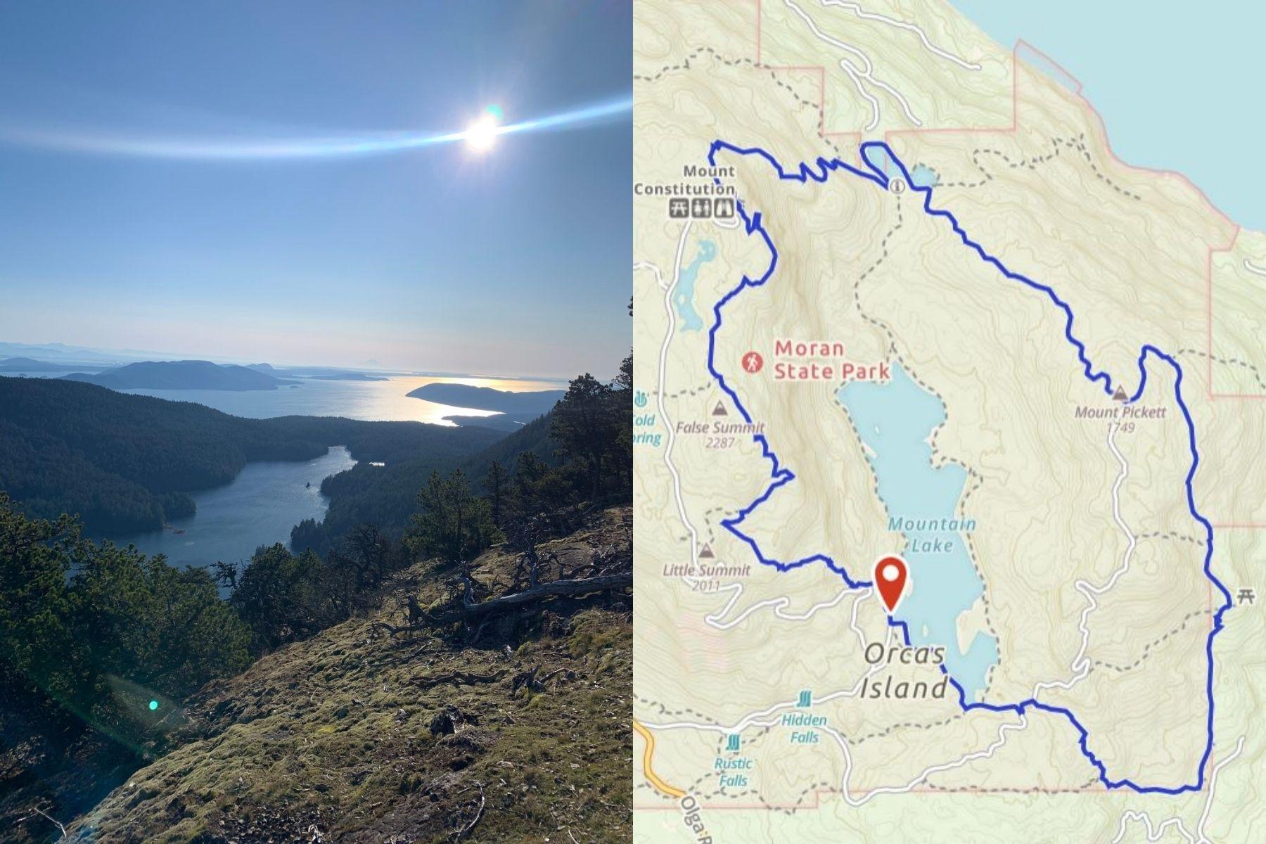 Mount Constitution via Mountain Lake + Twin Lakes and Mount Pickett