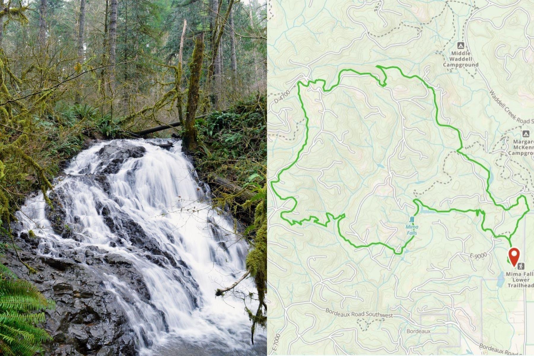 Mima Falls + McKenny Loop