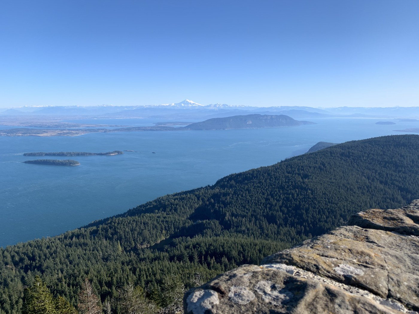 View from Mount Constitution. Photo by Phaunts.