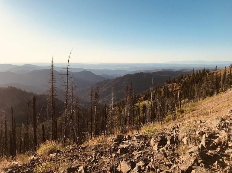 Oregon Butte. Photo by Alex Mesick.