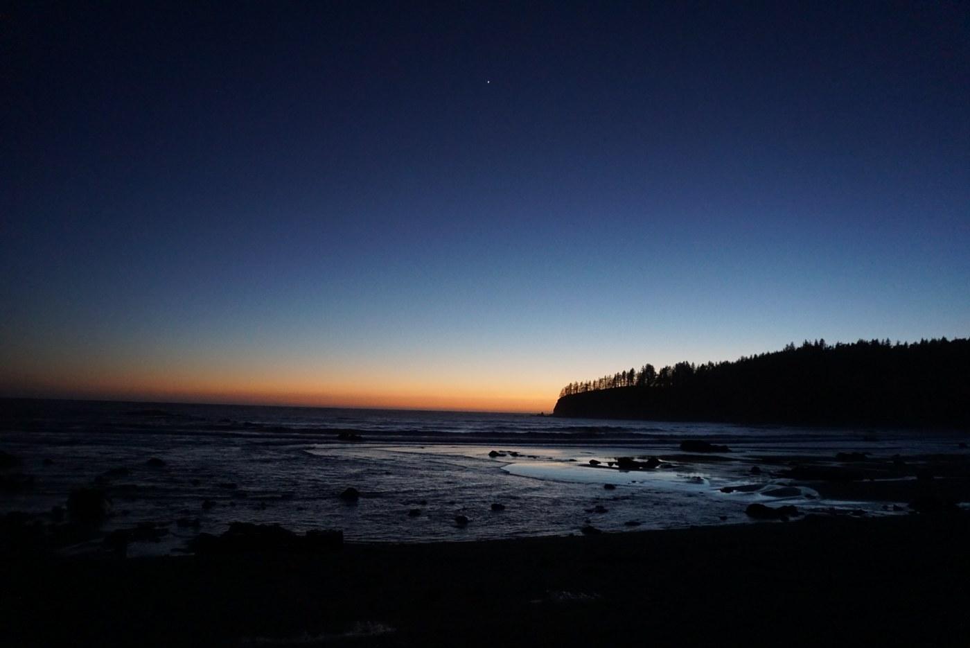 Third Beach at sunset. Photo by jeffdill.