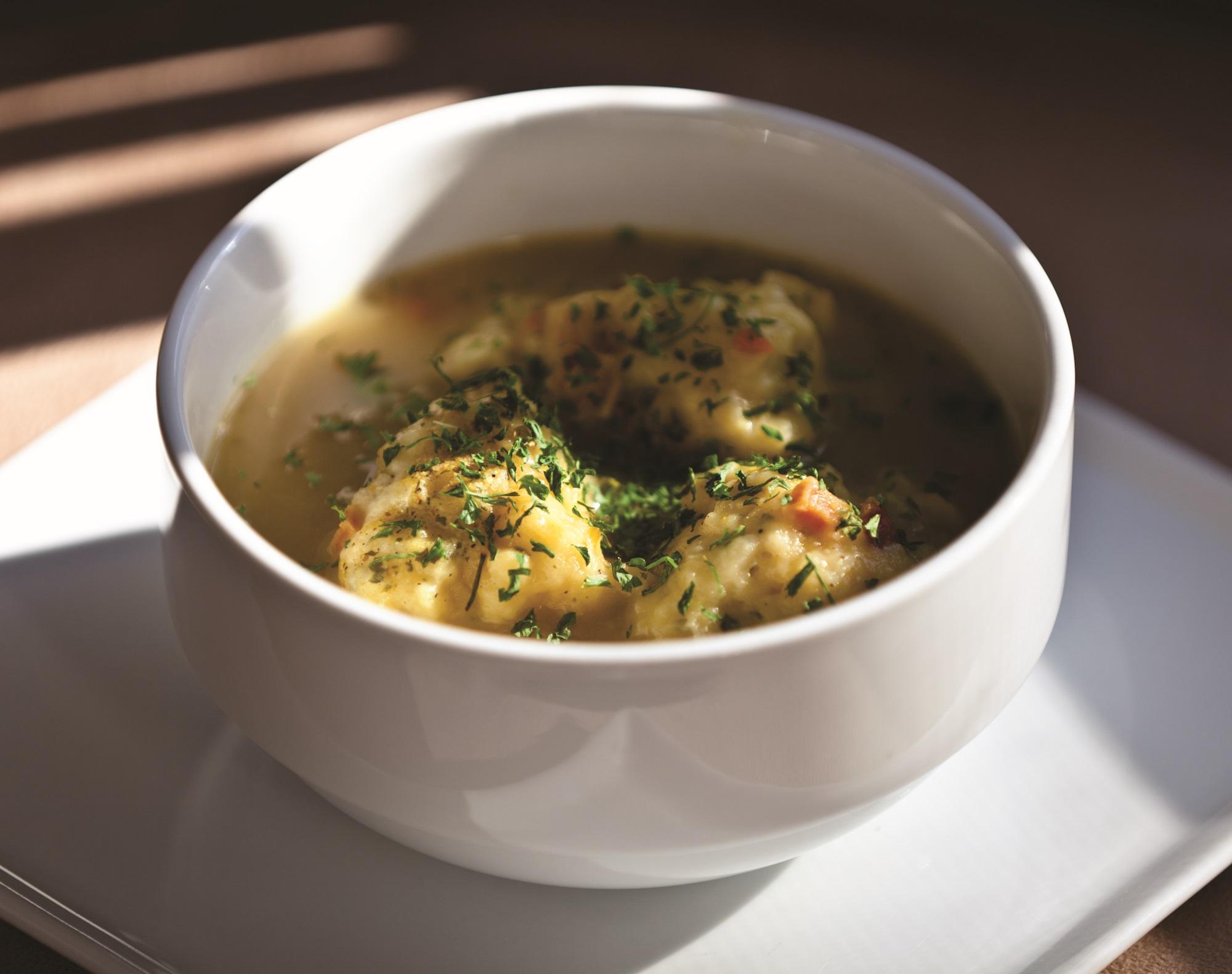 Dumpling Soup by Kirk Kirkconnell