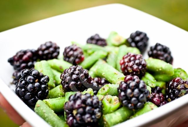 Blackberry Green Bean by Kirk Kirkconnell
