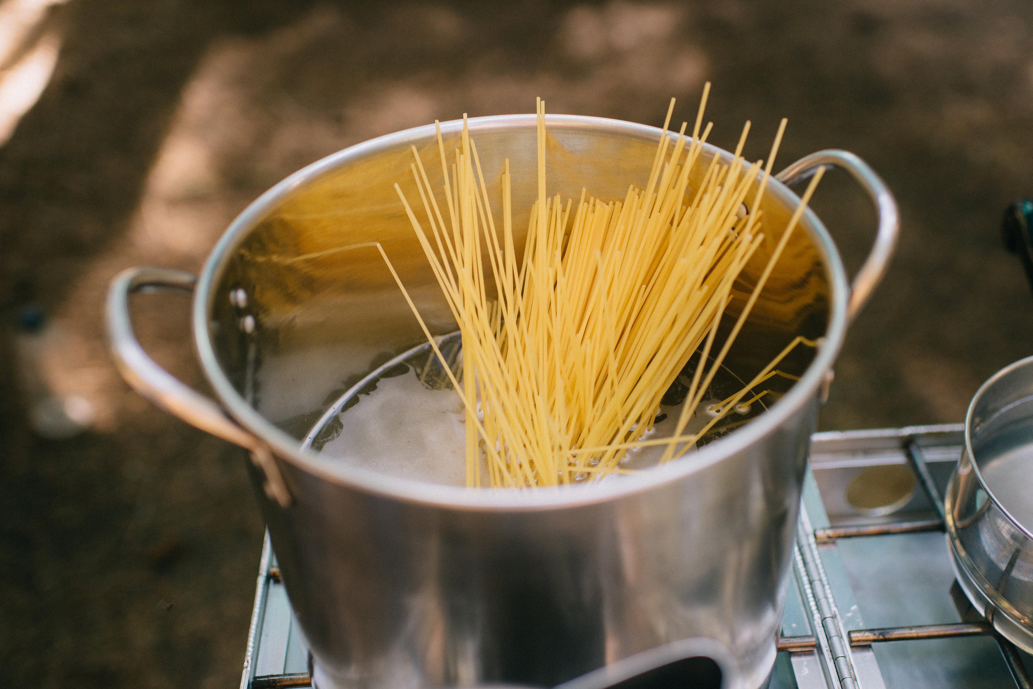 Spaghetti Noodles by Karen Wang