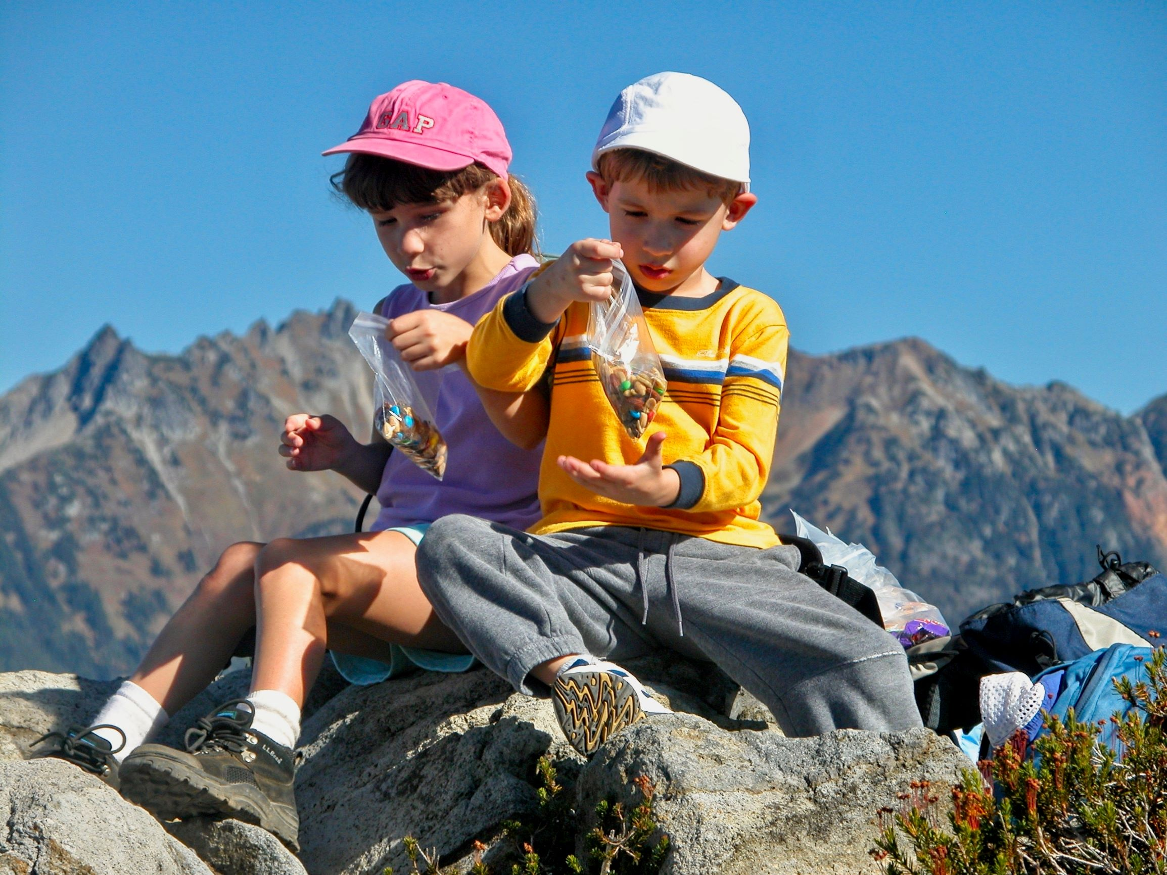 Snack time at Table Mountain. Photo by Doug Diekema..jpg