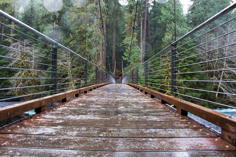 How to Hike in the Rain