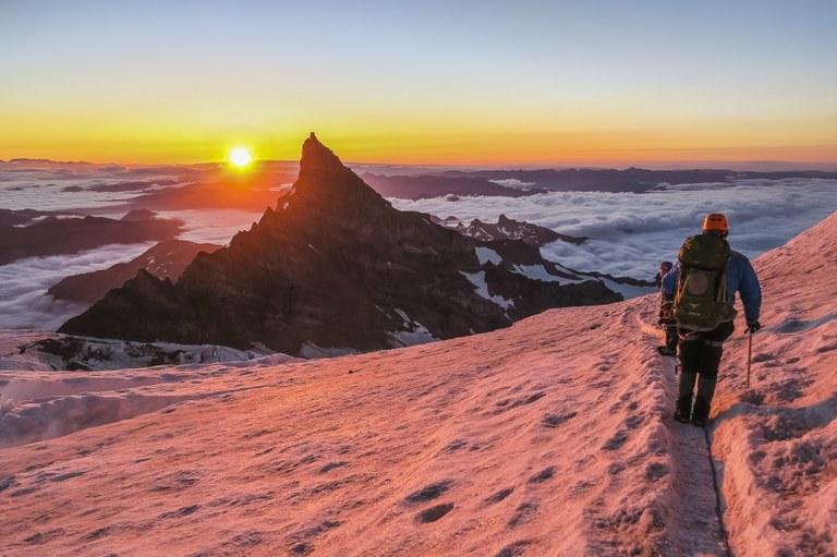 Sunrise from Ingraham Glacier by Kelsey Gurnett.jpg