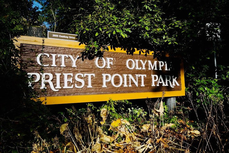 City of Olympia Priest Point Park. Austin Easter.