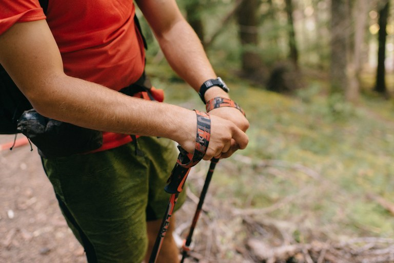 How to Hike with Trekking Poles
