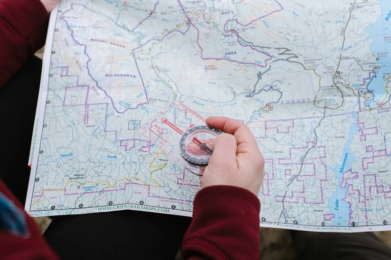 How to Read Hiking & Topo Maps