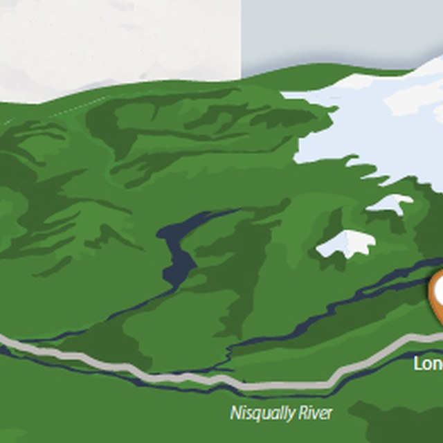 Mount Rainier Northwest Weekend Map