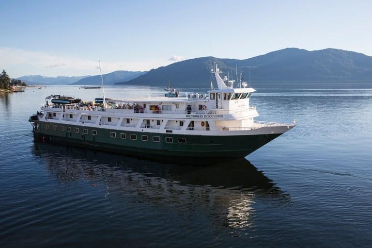 Boat. Photo courtesy UnCruise Adventures.