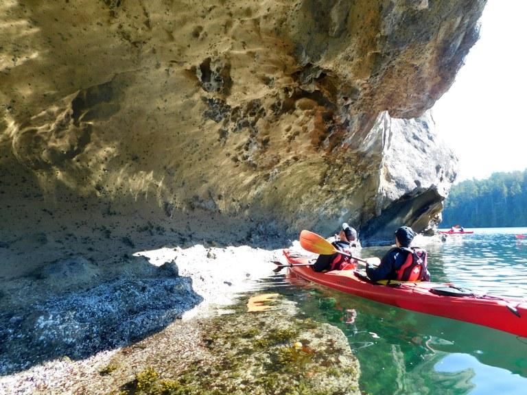 Exploring via kayak. Photo courtesy UnCruise Adventures.