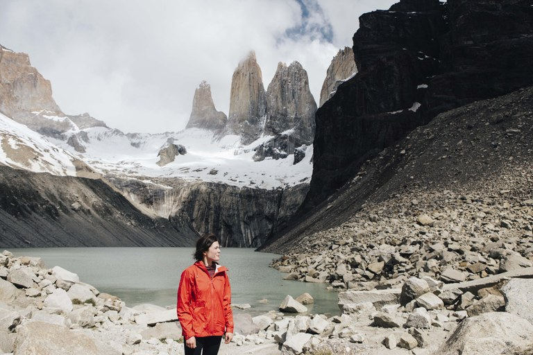 Gale in Patagonia. Photo courtesy Gale Straub.