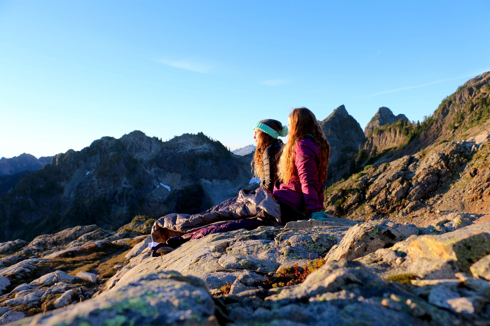Watching the sunset. Photo by Molly Henling.