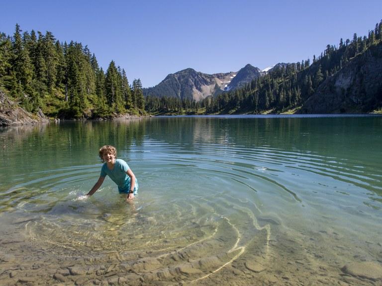 Watson Lake. Photo by Jon Stier.