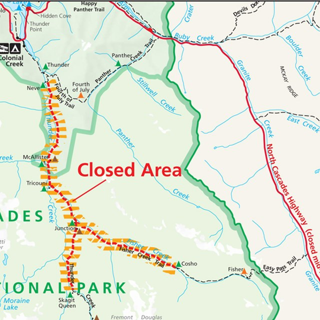 Thunder Creek Fire closure 6/8/15