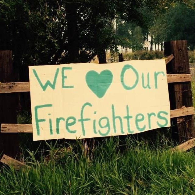 Glenwood thanks firefighters