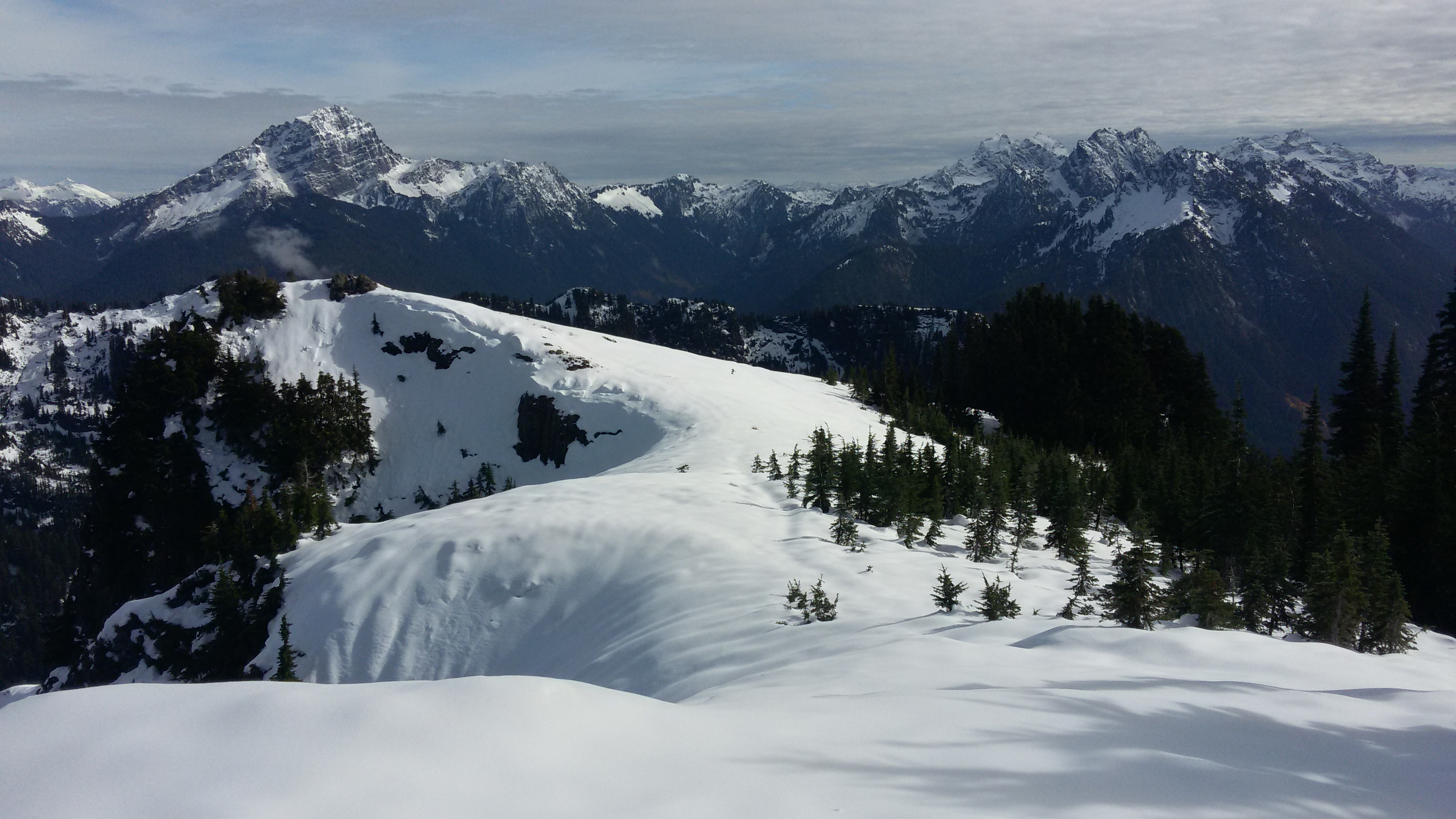 Mount Dickerman view