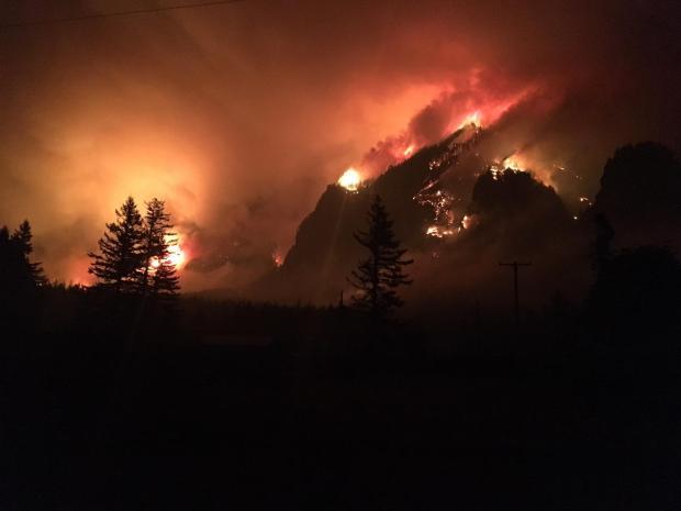 Eagle Creek Fire 9/5/17
