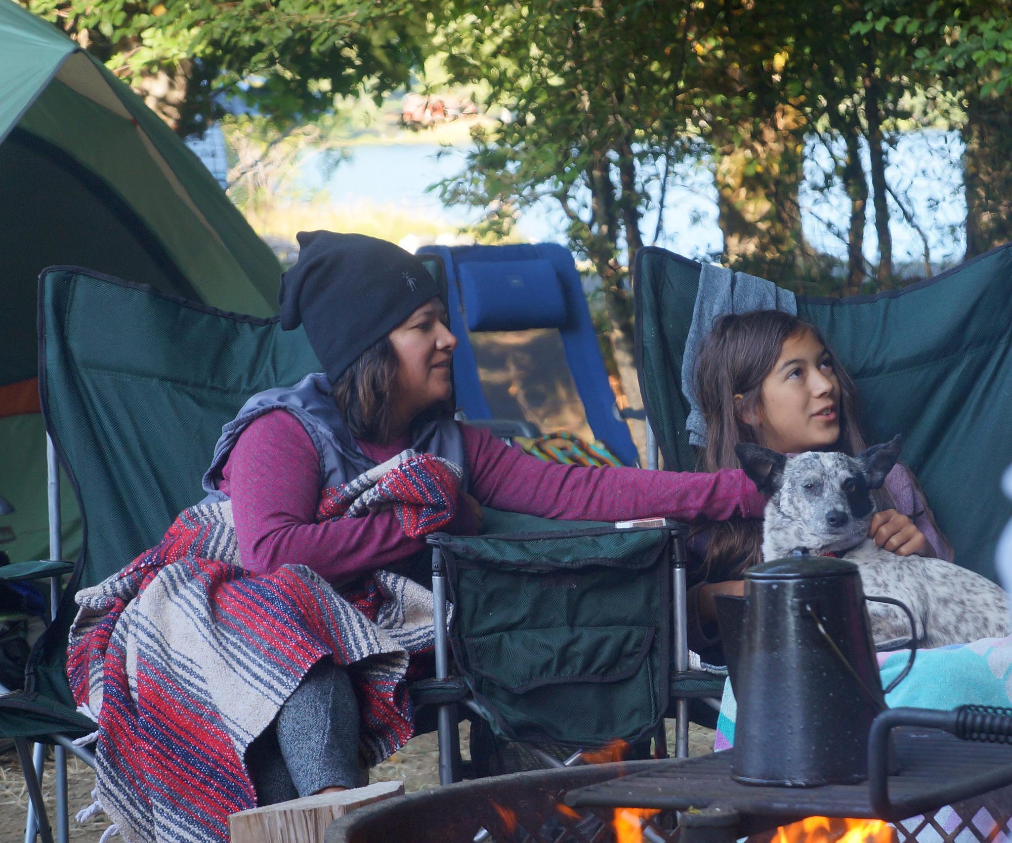 Camping at Lake Crescent