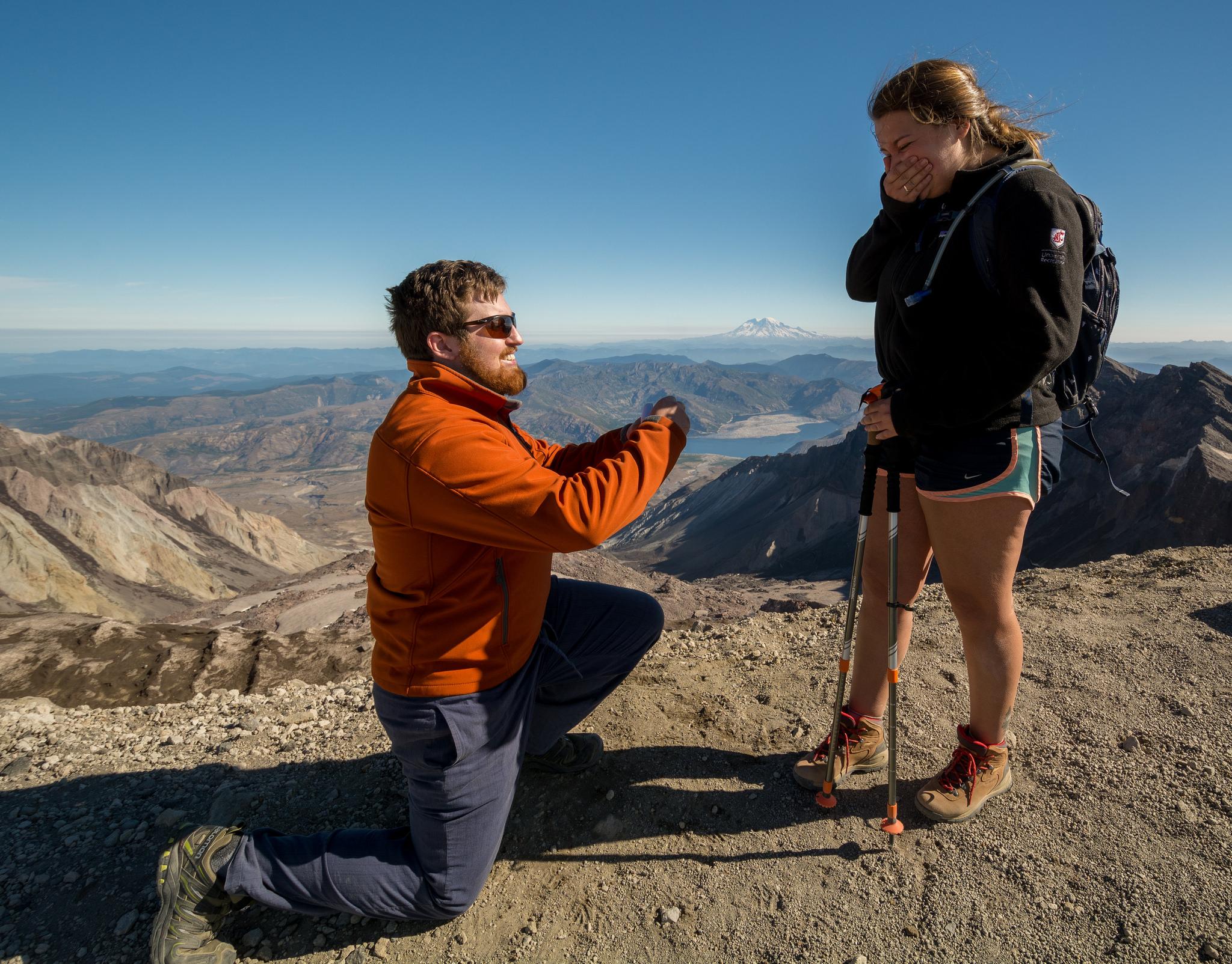 Peak proposal Mount St Helens by Keith LaPlante