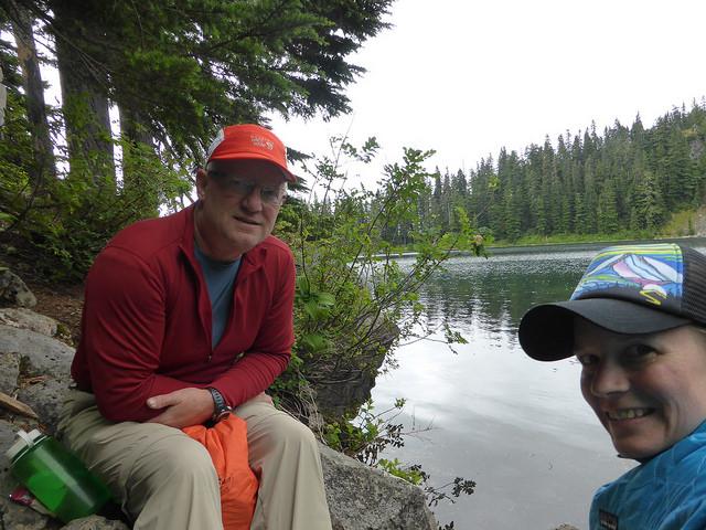 Andrea Imler hiking holiday