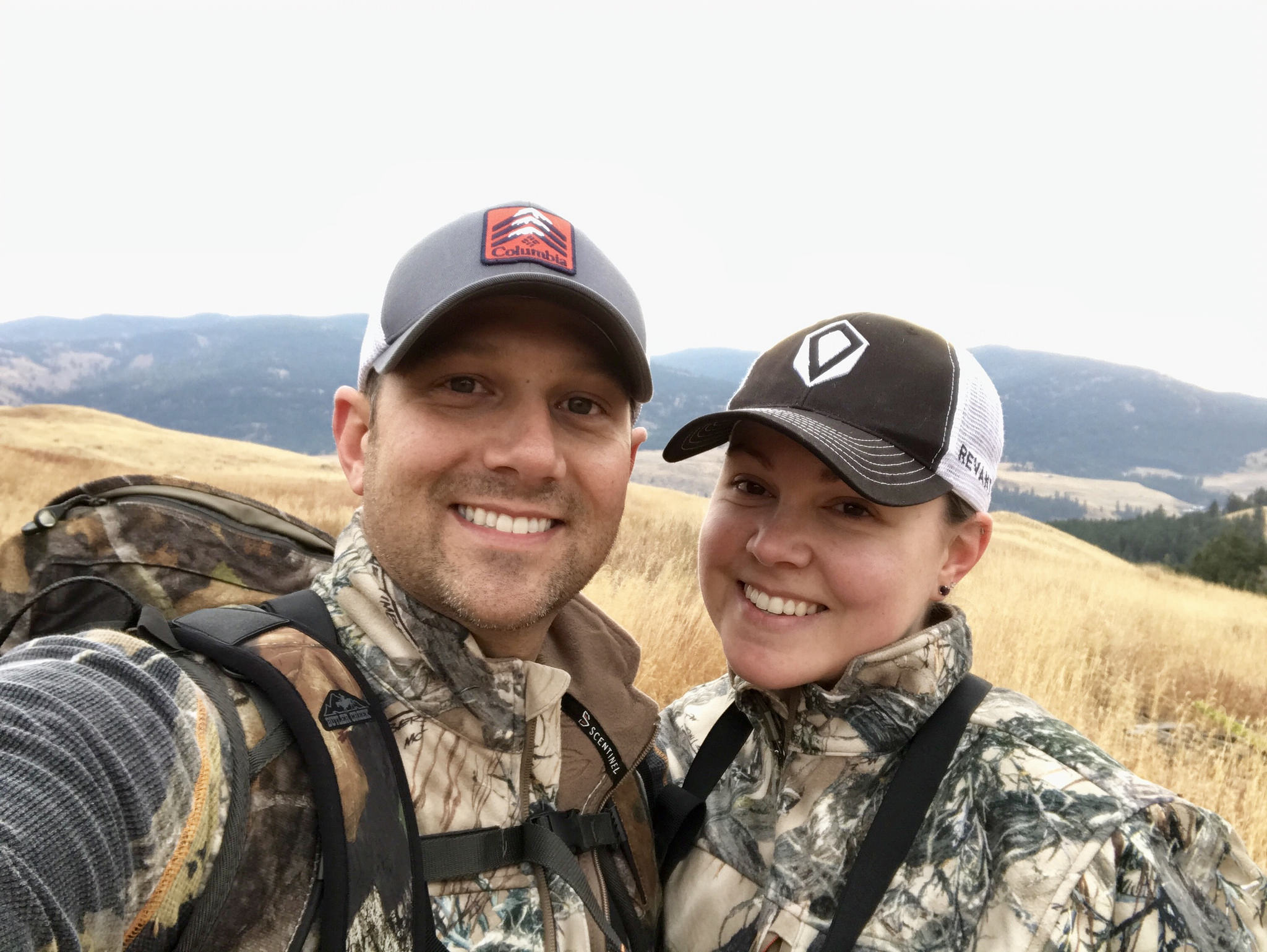 Hiking in Chesaw, WA with my fiancé. Love in a beautiful setting.  by  Michelle Underwood