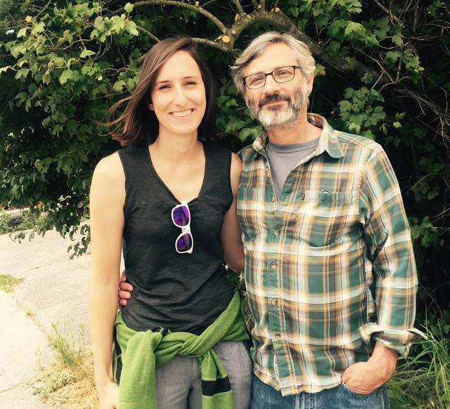 Bill Sunderland and Alyssa Kreider. Photo by Kate Neville