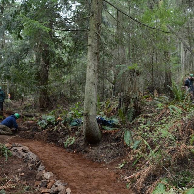 Tursi Trail volunteer steve moore