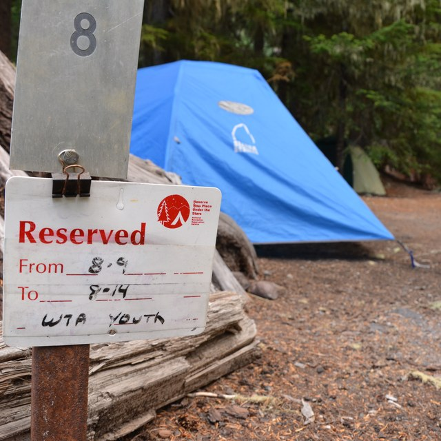 Campground Reserved for WTA Youth