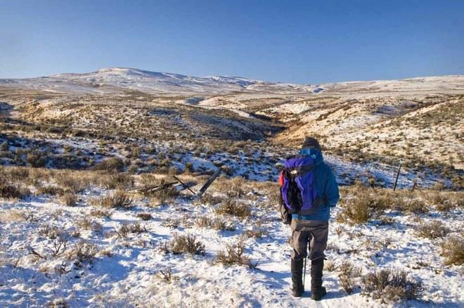 Winter Snow Mountain Ranch