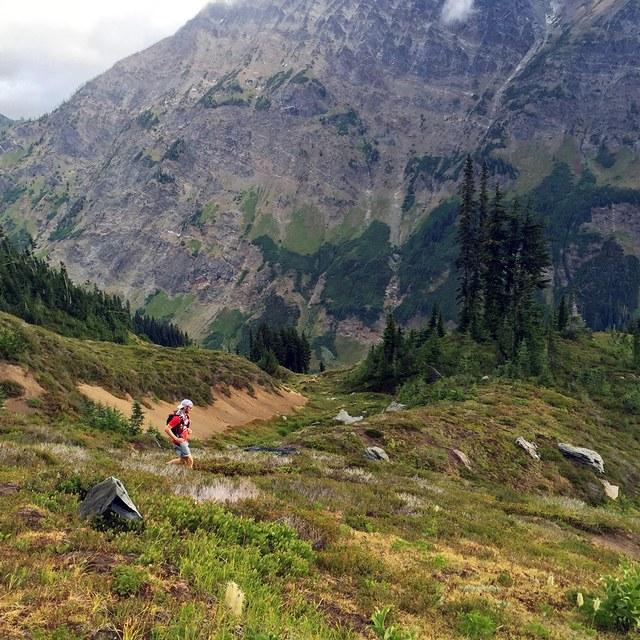 Glacier Peak Circumnavigation Luke and Ben