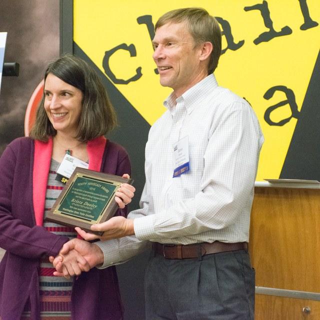 Krista Dooley youth advocacy award rachel wendling