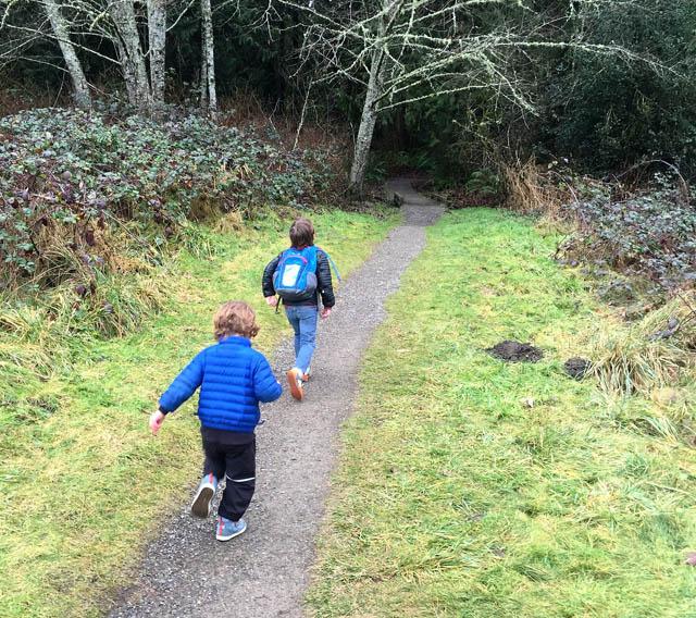 exploring Evans Creek