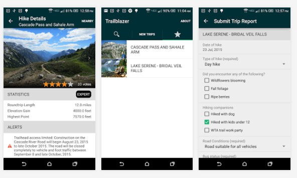 From alerts and new hike information to filing trip reports, WTA wants to help you connect to trails.