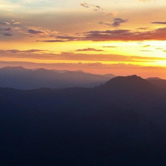 Suntop Peak Sunset