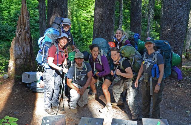 Happy volunteer vacationers. Anna Roth