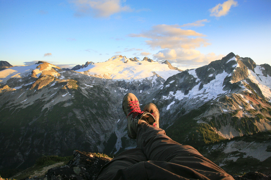 Boots above Mount Challenger. Photo by Buff Black.jpg