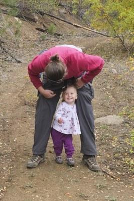 little girl hiking mikeonahike