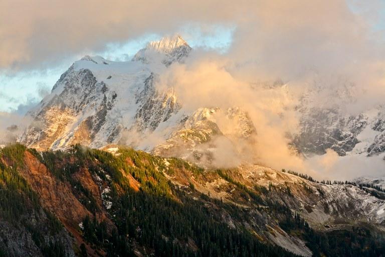 Mount Shuksan by Doug Diekema