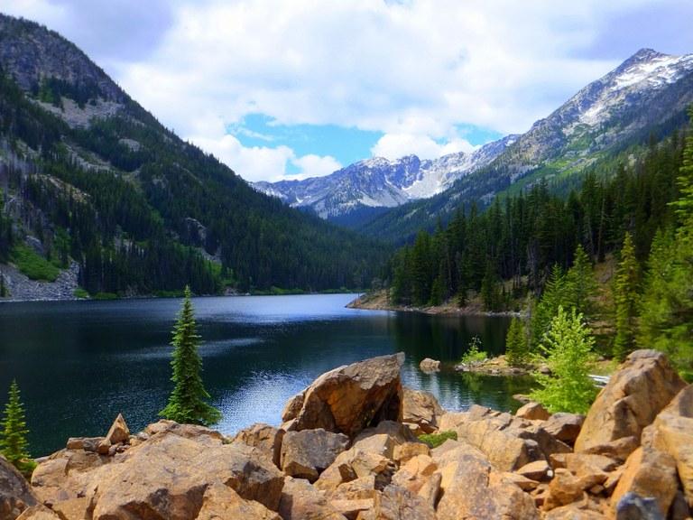 Eightmile Lake by Wesley Smith.