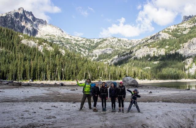Group at Snow Lake