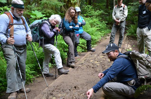 Tim talks trails Anna Roth