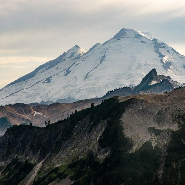 Mount Baker by Bob Wightman